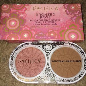 NEW&UNUSED Pacifica Bronzed Rose Blush&Bronzer Duo